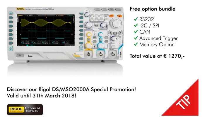 Picture: Special Promotion for the DS/MSO2000A!