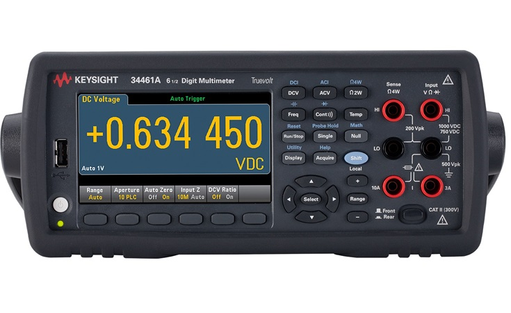 Picture: Keysight 34461A