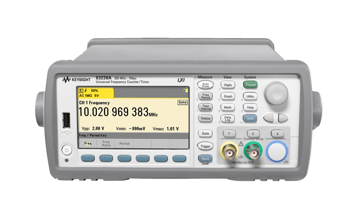 Picture: Keysight 53220A