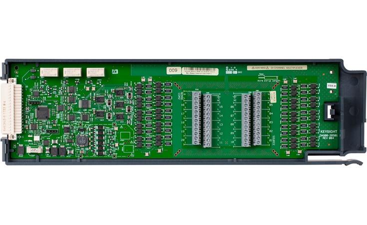 Bild: Keysight DAQM900A 20-Kanal Relais-MUX-Modul