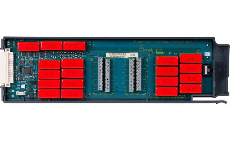 Bild: Keysight DAQM902A 16-Kanal-Hochgeschwindigkeitsmultiplexer Modul