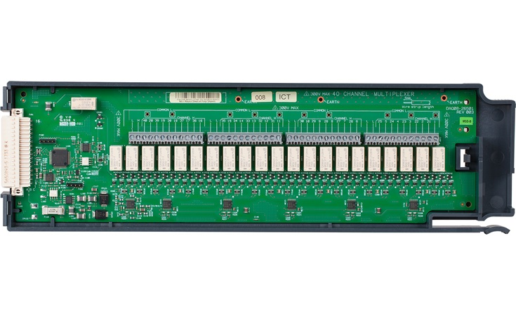 Bild: Keysight DAQM908A 40-Kanal-Multiplexermodul