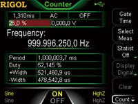 Picture: High resolution frequency counter