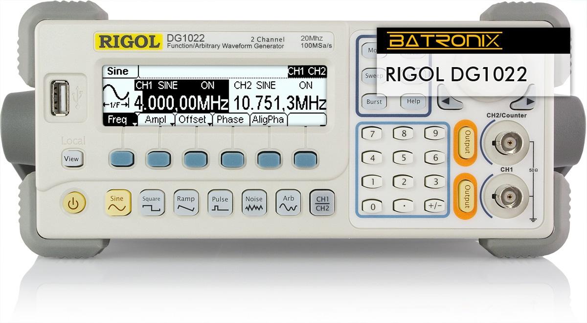 Details about  /RIGOL DG1022 2 CH 20MHz 100MSa//s FUNCTION//ARBITRARY WAVEFORM GEN W HANDLE
