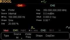 Bild: PWM Modulation