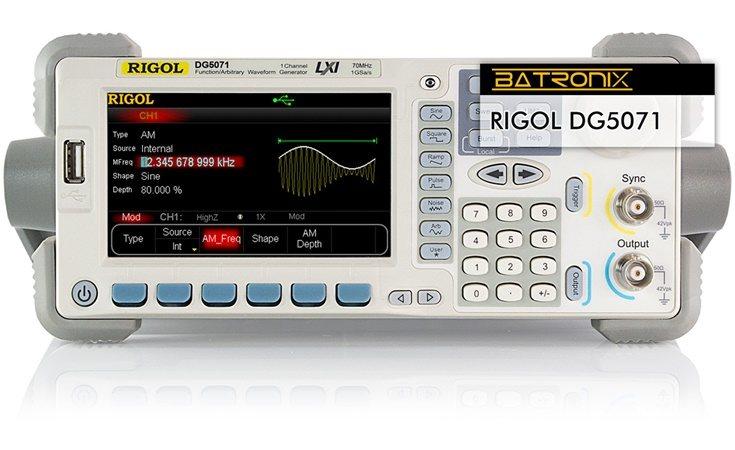 Picture: Rigol DG5071