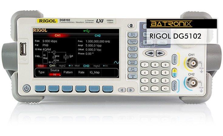 Picture: Rigol DG5102