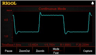 Picture: Powerful waveform display function