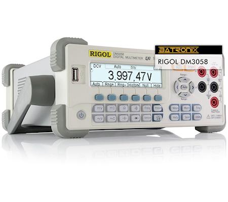 Picture:  Rigol DM3058 Digital Multimeter