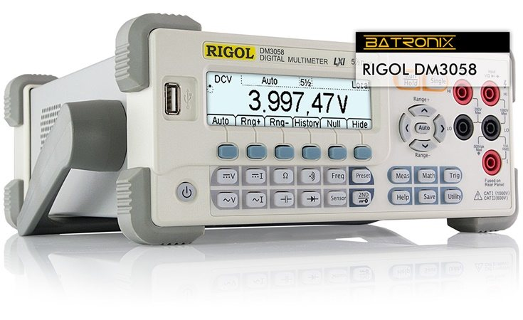 Bild: Rigol DM3058E Digital Multimeter