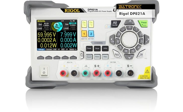 Picture: Rigol DP821A