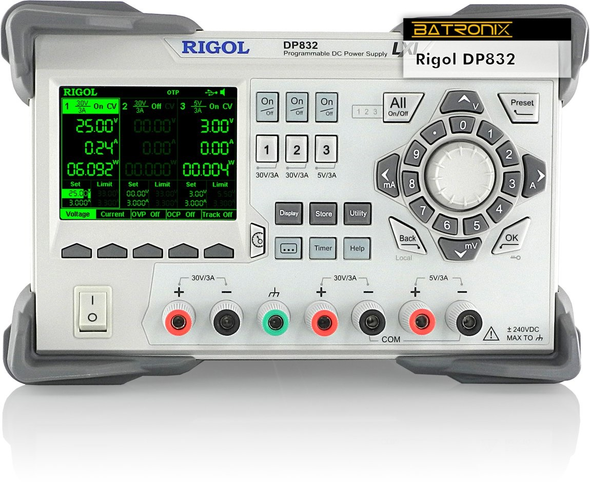 Rigol Dp832 Programmable Power Supply New Offer 0 30v0 2a Adjustable Voltage And Current Regulator Picture