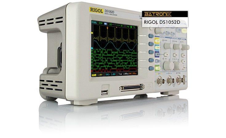 Picture: Rigol DS1052D