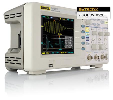 Picture:  Rigol DS1052E
