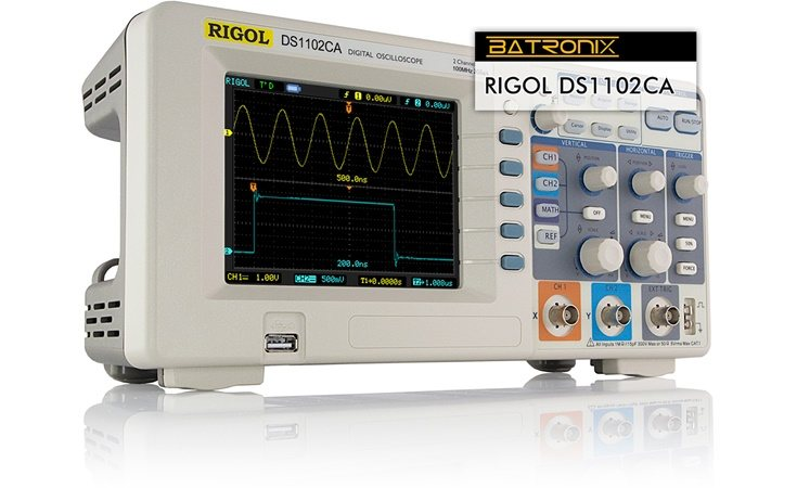 Picture: Rigol DS1102CA
