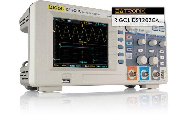 Picture: Rigol DS1202CA