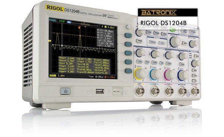Picture: Rigol DS1204B