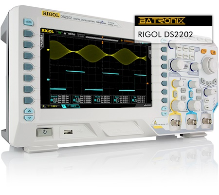 Picture:  Rigol DS2202