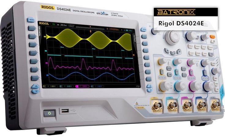 Picture: Rigol DS4024E