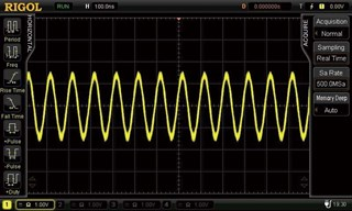 Bild: Hardware Signalfilter (gefiltert)