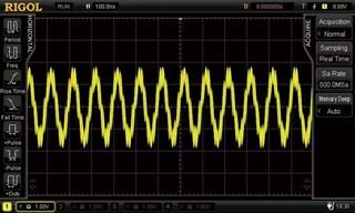 Bild: Hardware Signalfilter (ungefiltert)