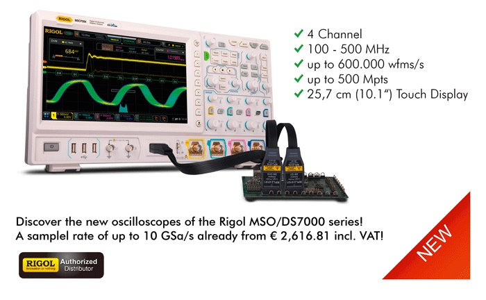 Picture: The new Rigol MSO/DS7000 series