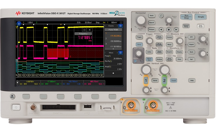 Picture: Keysight DSOX3012T