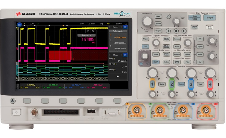 Picture: Keysight DSOX3104T