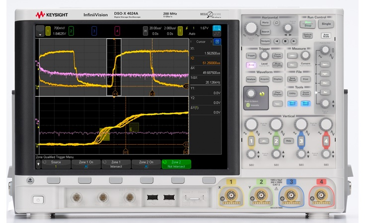 Picture: Keysight DSOX4024A