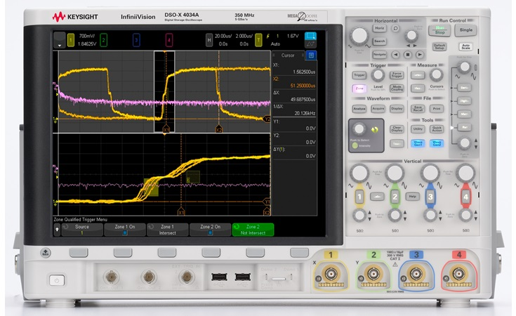 Picture: Keysight DSOX4034A