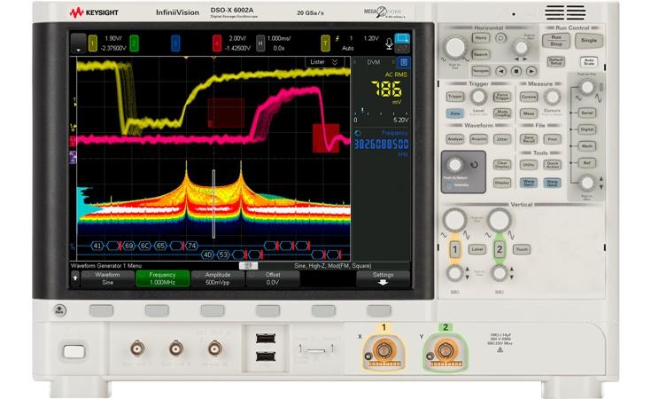 Bild: Keysight DSOX6002A (6 GHz)