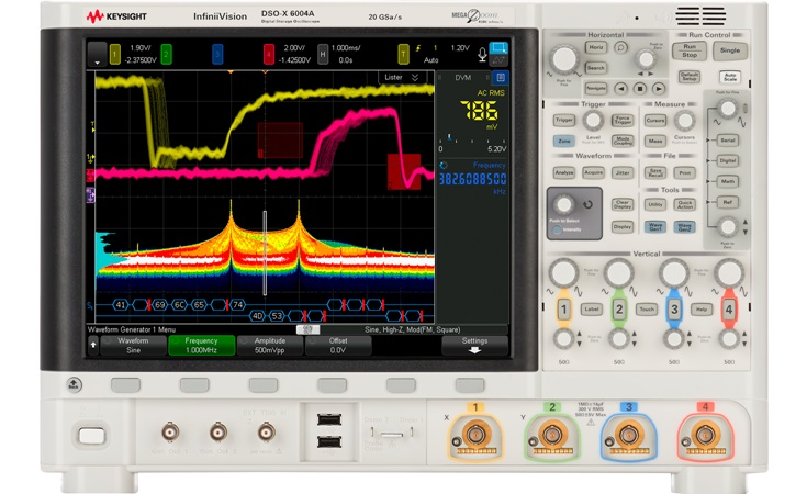 Picture: Keysight DSOX6004A