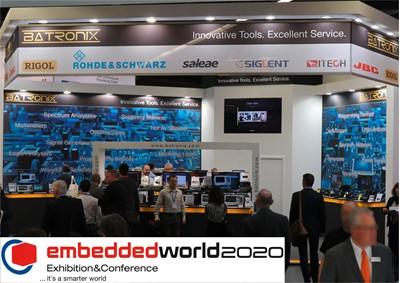Bild: Einladung zur embedded world 2020