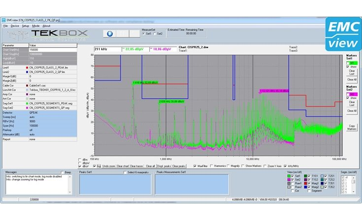 Picture: TekBox EMCview Software