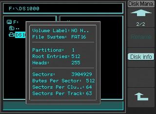 Bild: Dateisystem und USB Stick Unterstützung