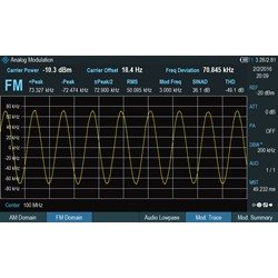 R&S® FPH-K7 AM/FM Modulationsanalyse