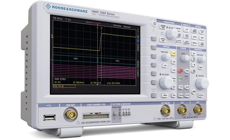 Picture: Rohde & Schwarz HMO1102