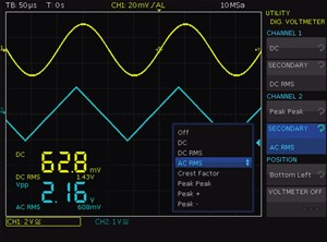 Picture: Digital voltmeter (DVM)