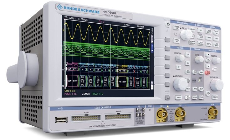 Picture: Rohde & Schwarz HMOCOMP2