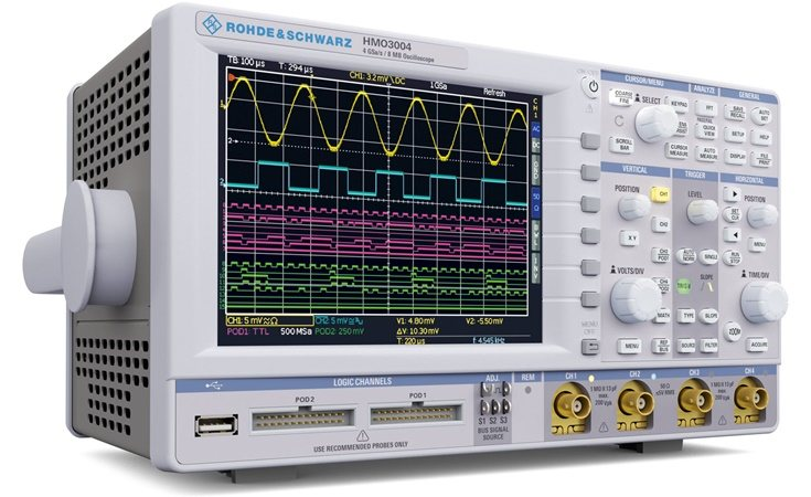 Picture: Rohde & Schwarz HMOCOMP4