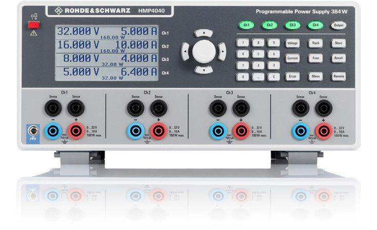 Picture: Rohde & Schwarz HMP4040