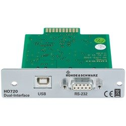R&S® HO720 Dual interface (RS-232/USB)