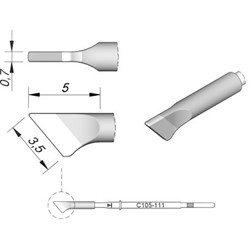 JBC C105111 Knife 3,5 x 0,7