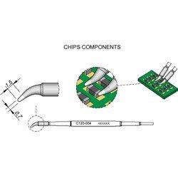 JBC C120004 Chip Ø0,7 S1