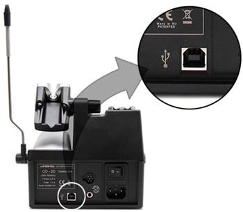 Bild: Steuerung und Firmware Updates über USB