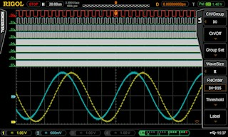 Picture: Integrated 16 Channel Logic Analyser