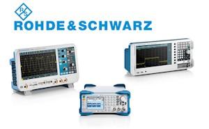 Bild: August 2017: Rohde & Schwarz Messtechnik jetzt bei Batronix!