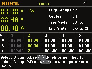 Picture: Powerful timing output function