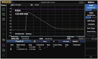 Picture: EMI kit (EMI filter & Quasi-peak & Pass/Fail, optional)