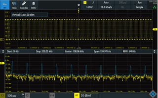 Picture: Frequency analysis mode
